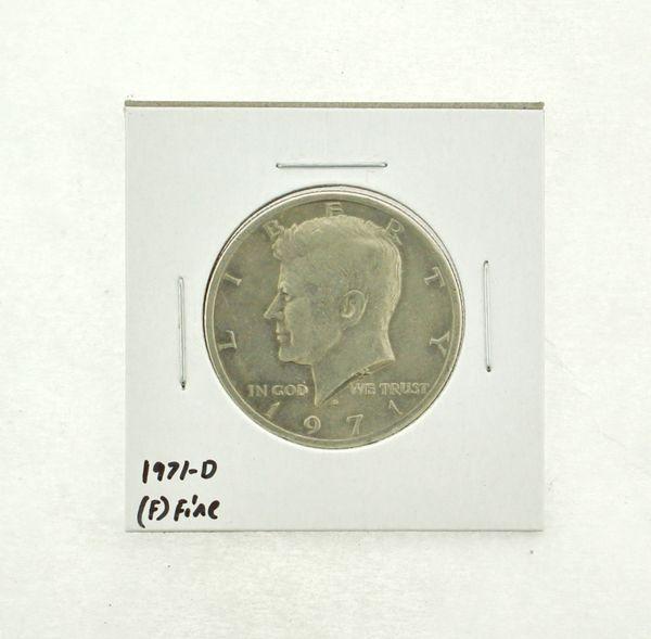 1971-D Kennedy Half Dollar (F) Fine N2-3467-13