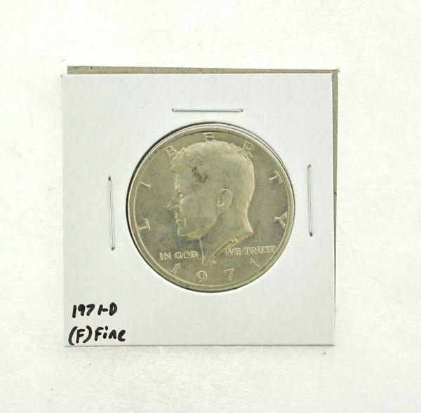 1971-D Kennedy Half Dollar (F) Fine N2-3467-14