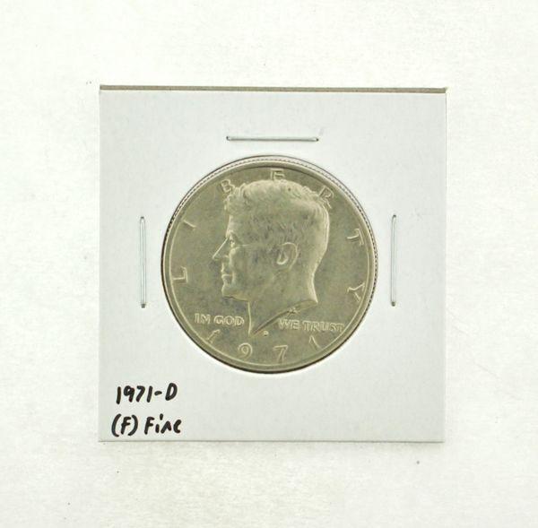 1971-D Kennedy Half Dollar (F) Fine N2-3467-15