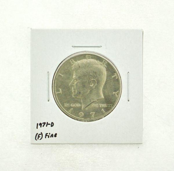 1971-D Kennedy Half Dollar (F) Fine N2-3467-16