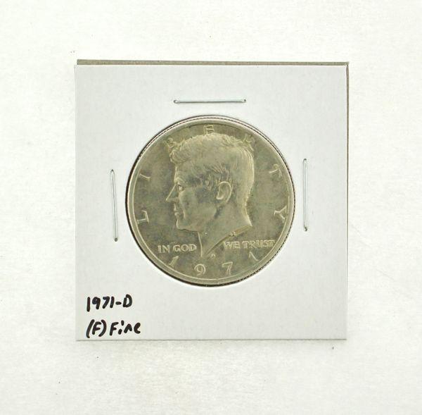 1971-D Kennedy Half Dollar (F) Fine N2-3467-17