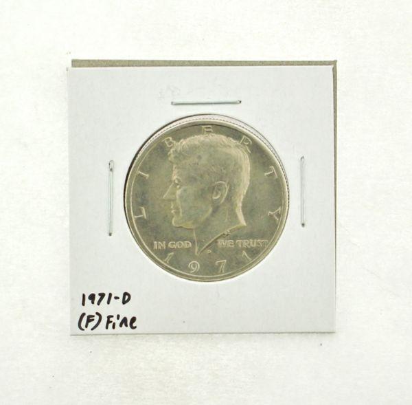 1971-D Kennedy Half Dollar (F) Fine N2-3467-19