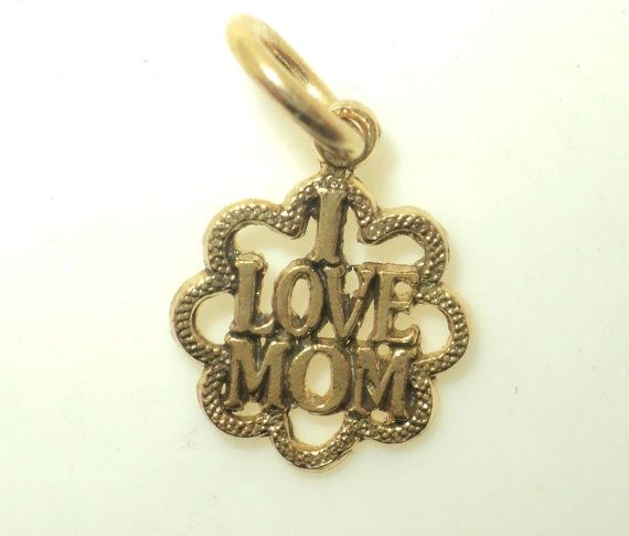 I Love Mom Charm (JC-581)