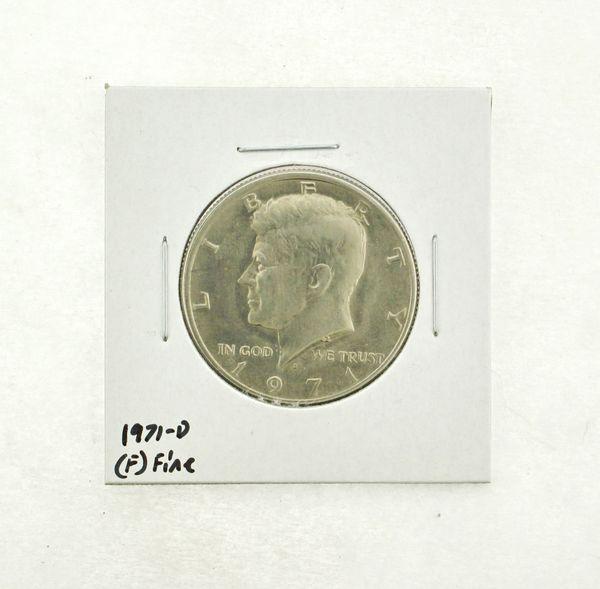 1971-D Kennedy Half Dollar (F) Fine N2-3467-20