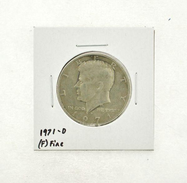 1971-D Kennedy Half Dollar (F) Fine N2-3467-22