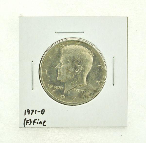 1971-D Kennedy Half Dollar (F) Fine N2-3467-25