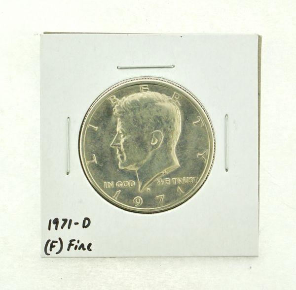 1971-D Kennedy Half Dollar (F) Fine N2-3467-27