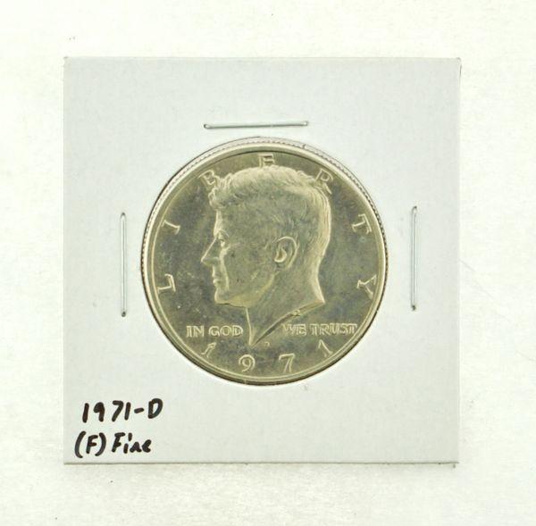 1971-D Kennedy Half Dollar (F) Fine N2-3467-28