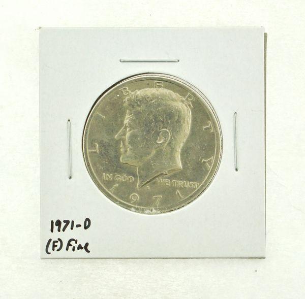 1971-D Kennedy Half Dollar (F) Fine N2-3467-29