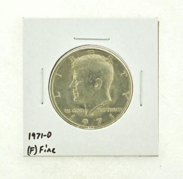 1971-D Kennedy Half Dollar (F) Fine N2-3467-31