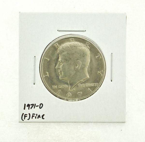 1971-D Kennedy Half Dollar (F) Fine N2-3467-32