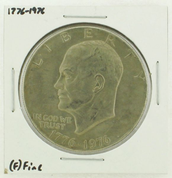 1976 Type I Eisenhower Dollar RATING: (F) Fine (N2-4148-01)