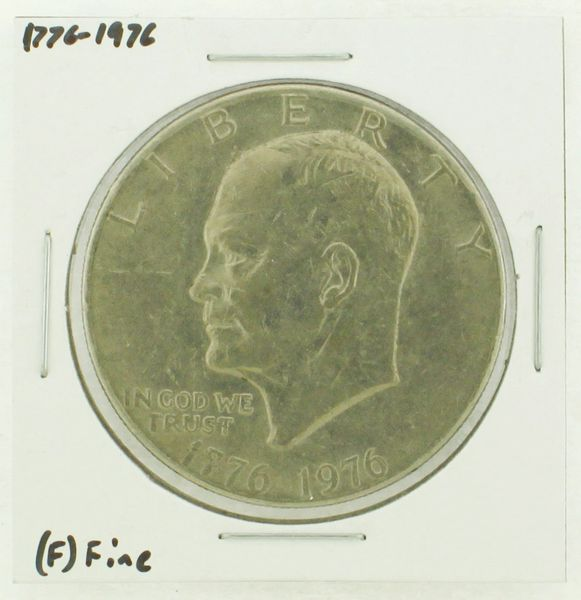 1976 Type I Eisenhower Dollar RATING: (F) Fine (N2-4148-07)