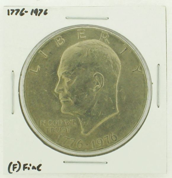 1976 Type I Eisenhower Dollar RATING: (F) Fine (N2-4148-09)