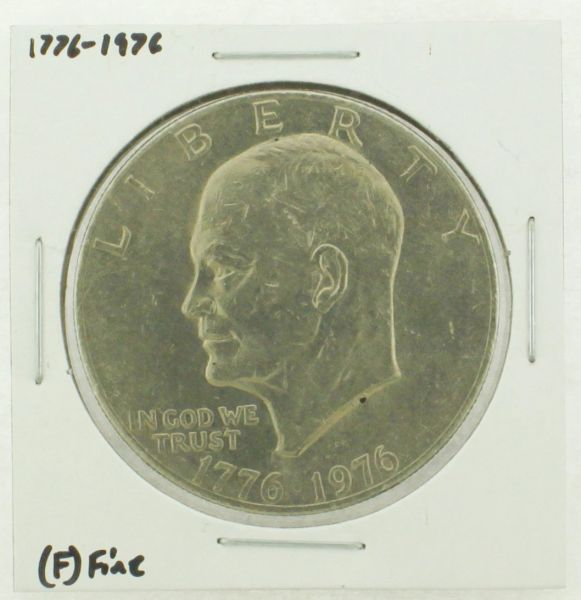 1976 Type I Eisenhower Dollar RATING: (F) Fine (N2-4148-10)