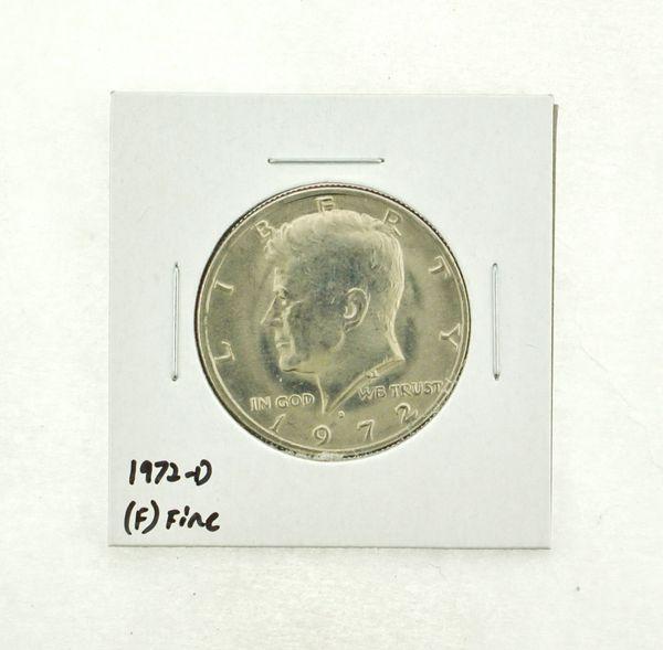 1972-D Kennedy Half Dollar (F) Fine N2-3610-6