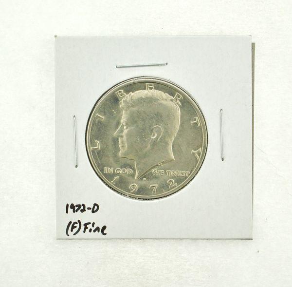 1972-D Kennedy Half Dollar (F) Fine N2-3610-7