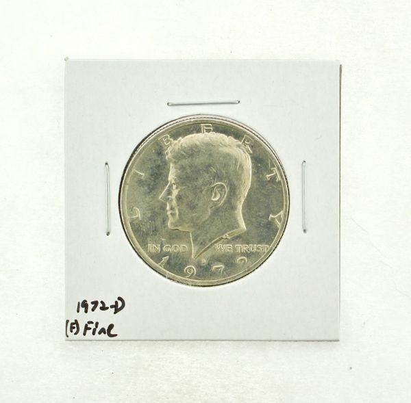 1972-D Kennedy Half Dollar (F) Fine N2-3610-8