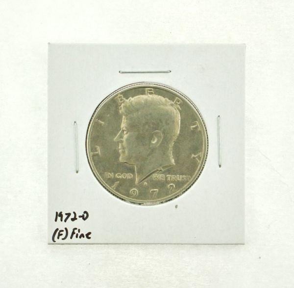 1972-D Kennedy Half Dollar (F) Fine N2-3610-9