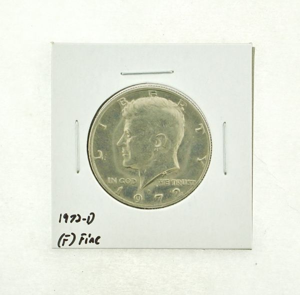 1972-D Kennedy Half Dollar (F) Fine N2-3610-10