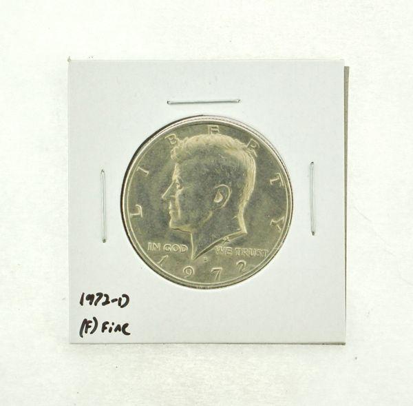 1972-D Kennedy Half Dollar (F) Fine N2-3610-11