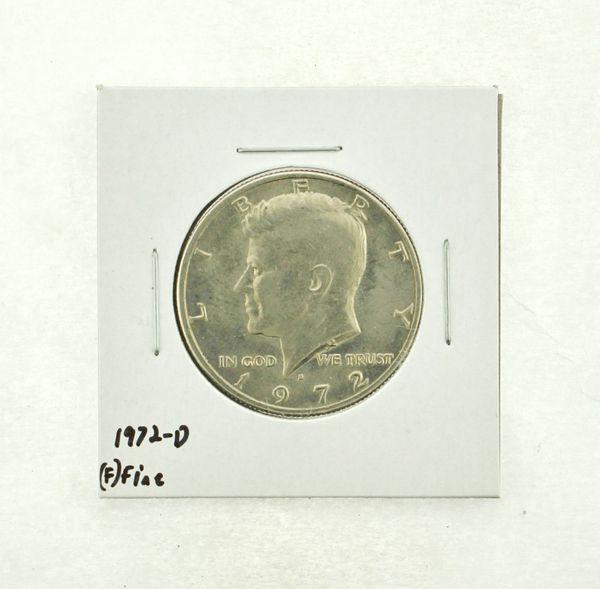 1972-D Kennedy Half Dollar (F) Fine N2-3610-12