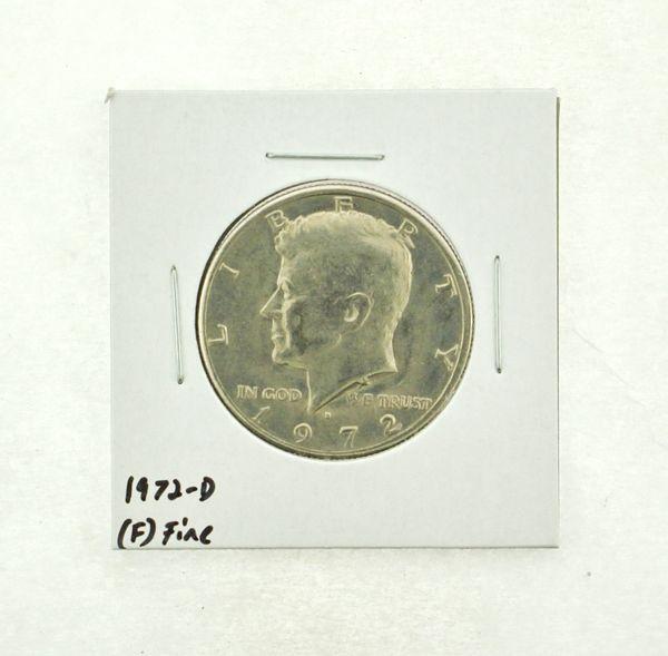1972-D Kennedy Half Dollar (F) Fine N2-3610-13