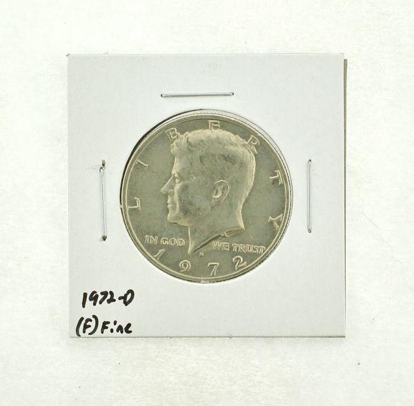 1972-D Kennedy Half Dollar (F) Fine N2-3610-14
