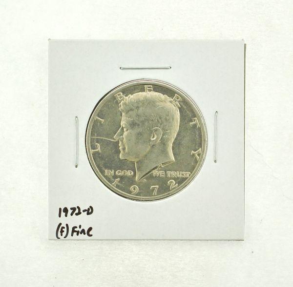 1972-D Kennedy Half Dollar (F) Fine N2-3610-17