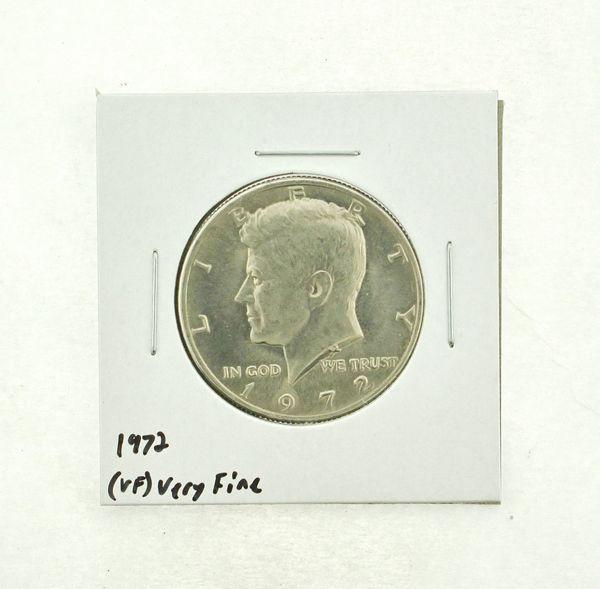 1972 Kennedy Half Dollar (VF) Very Fine N2-3627