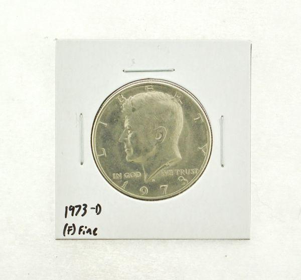 1973-D Kennedy Half Dollar (F) Fine N2-3634-1