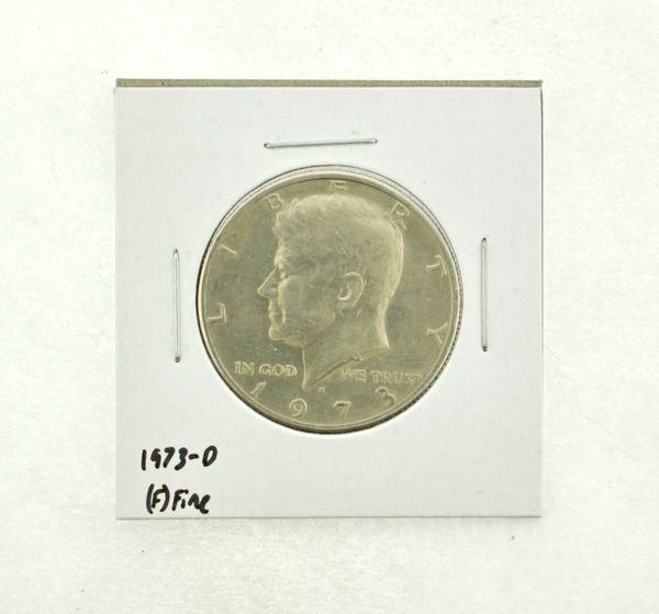 1973-D Kennedy Half Dollar (F) Fine N2-3634-5
