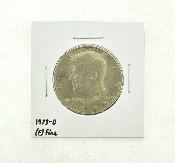 1973-D Kennedy Half Dollar (F) Fine N2-3634-8