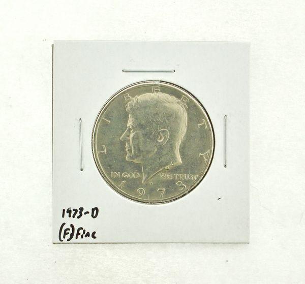 1973-D Kennedy Half Dollar (F) Fine N2-3634-9