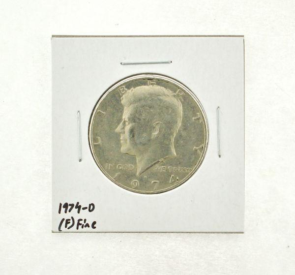 1974-D Kennedy Half Dollar (F) Fine N2-3668-3