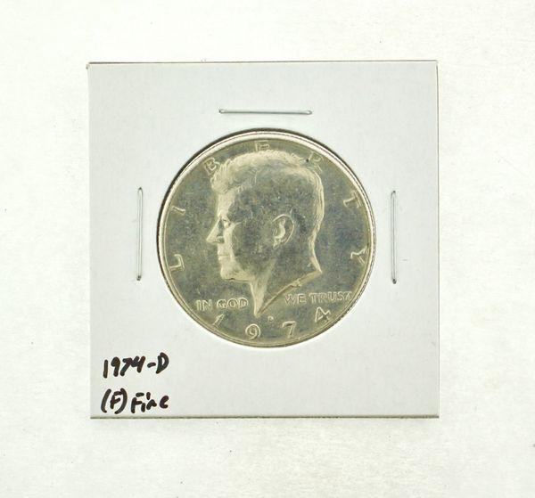 1974-D Kennedy Half Dollar (F) Fine N2-3668-6