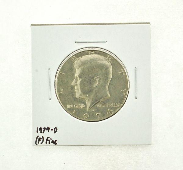 1974-D Kennedy Half Dollar (F) Fine N2-3668-8
