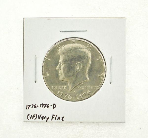 1776-1976-D Kennedy Half Dollar (VF) Very Fine N2-3687-1