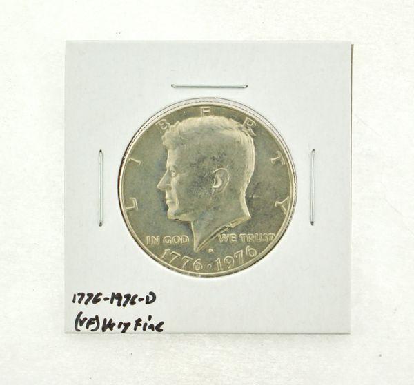 1776-1976-D Kennedy Half Dollar (VF) Very Fine N2-3687-3