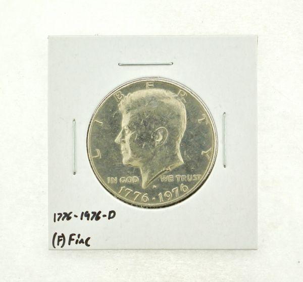1776-1976-D Kennedy Half Dollar (F) Fine N2-3690-2