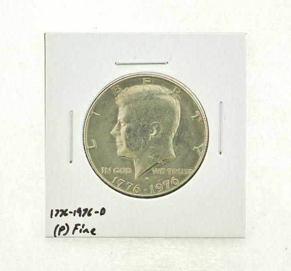 1776-1976-D Kennedy Half Dollar (F) Fine N2-3690-4