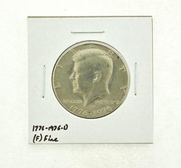 1776-1976-D Kennedy Half Dollar (F) Fine N2-3690-9
