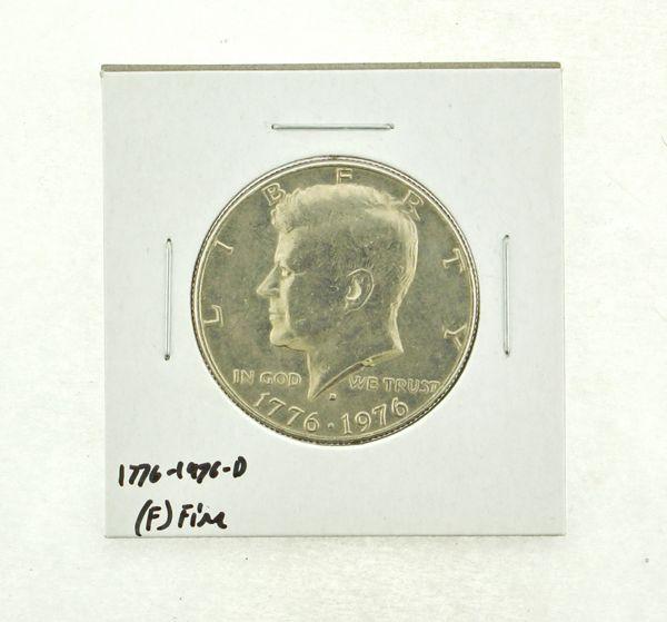 1776-1976-D Kennedy Half Dollar (F) Fine N2-3690-11