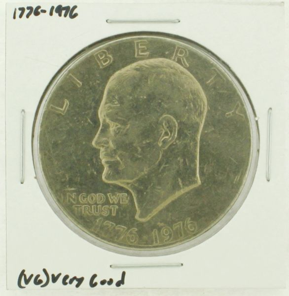 1976 Type I Eisenhower Dollar RATING: (VG) Very Good (N2-4174-4)