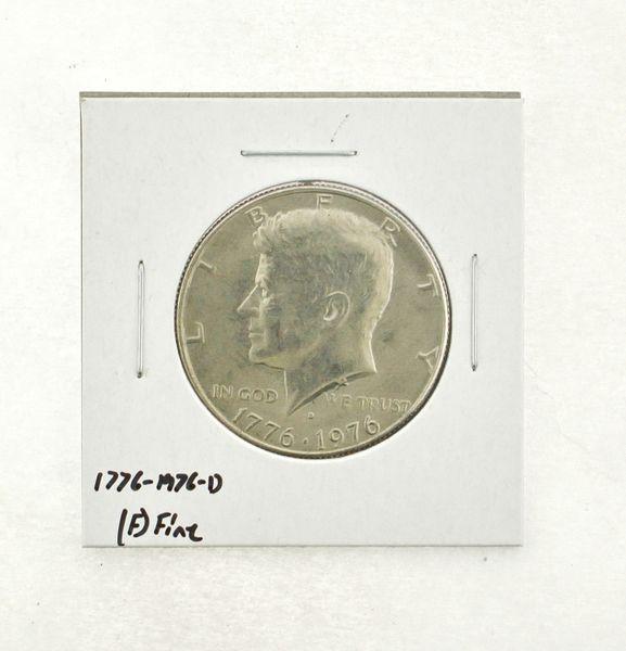 1776-1976-D Kennedy Half Dollar (F) Fine N2-3690-13