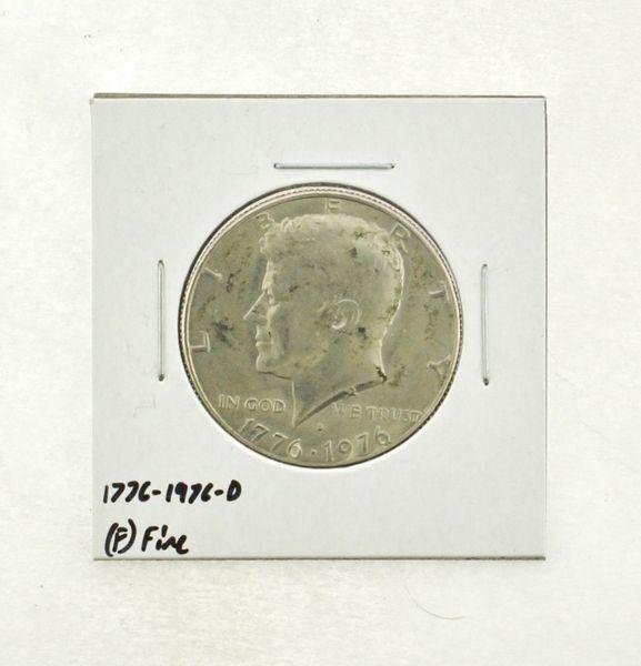 1776-1976-D Kennedy Half Dollar (F) Fine N2-3690-14