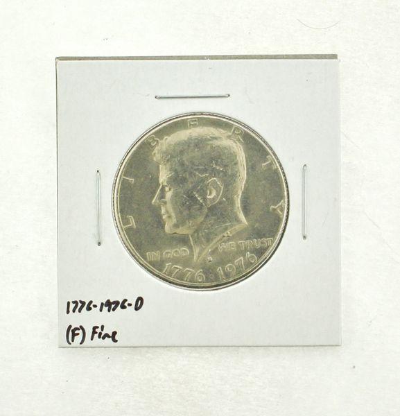 1776-1976-D Kennedy Half Dollar (F) Fine N2-3690-17
