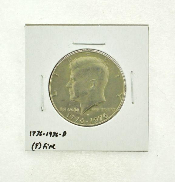 1776-1976-D Kennedy Half Dollar (F) Fine N2-3690-18