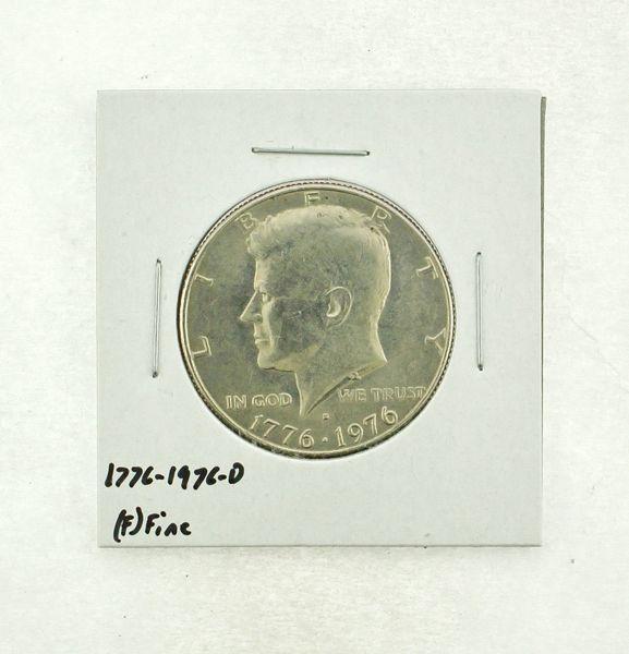 1776-1976-D Kennedy Half Dollar (F) Fine N2-3690-21