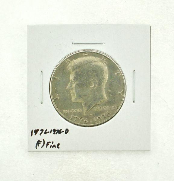 1776-1976-D Kennedy Half Dollar (F) Fine N2-3690-22